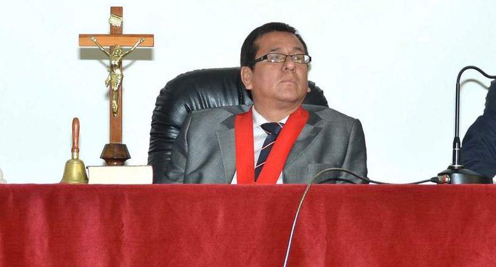 Marco Cerna Bazán era presidente de la Corte Superior de Justicia de Lima Sur. (Foto: Poder Judicial)