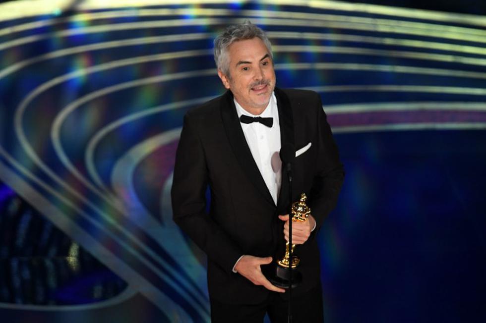 """Oscar 2019: Alfonso Cuaron gana Mejor Fotografía por """"Roma""""  (Foto: AFP)"""