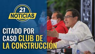 Presidente Vizcarra es citado por caso Club de la Construcción