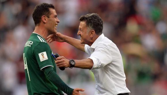 Juan Carlos Osorio llevó a México a octavos de final en Rusia 2018 (Foto: EFE).