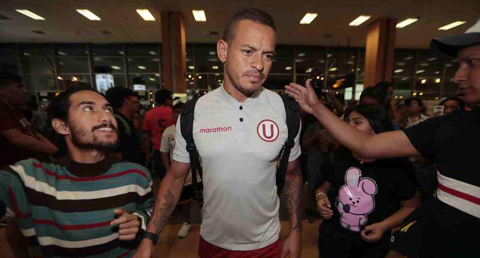 Universitario de Deportes llegó a Lima este viernes. (Foto: GEC)