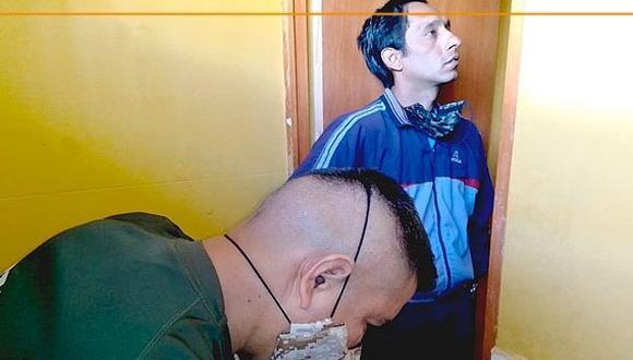 Huánuco: los objetos fueron hallados en la revisión de cambio de turno del personal, como parte de la rutina de bioseguridad. (Foto: Inpe)