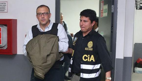 Pier Figari cumple una orden de 18 meses de prisión preventiva en el penal Ancón II. (Foto: Agencia Andina)