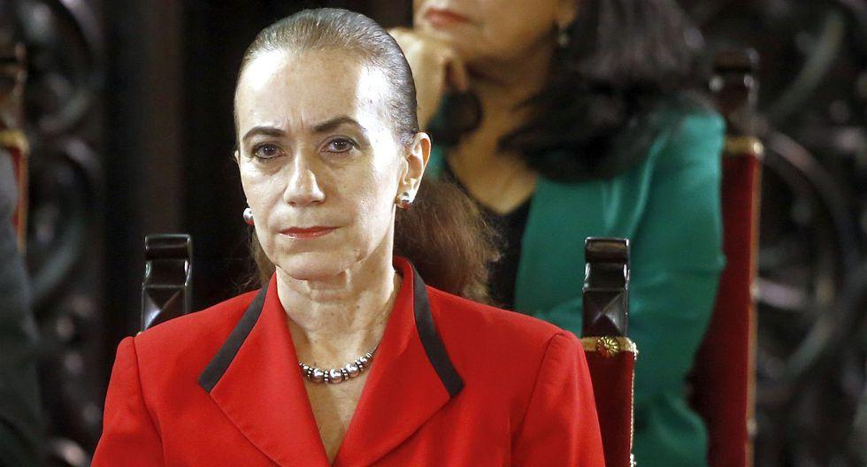 La ministra de Justicia, Ana Teresa Revilla Vergara,