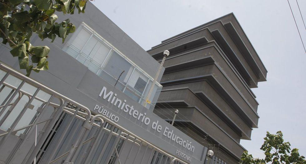 El Ministerio de Educación (Minedu). (Foto: GEC)