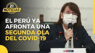 Ministra Mazzetti reveló que el Perú afronta una segunda ola