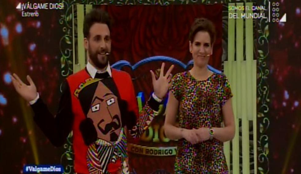 'Peluchín' y Gigi Mitre (Latina)
