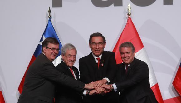 México, Chile, Perú y Colombia esperan que para 2030 se alcance una AP más integrada (Lino Chipana/GEC).