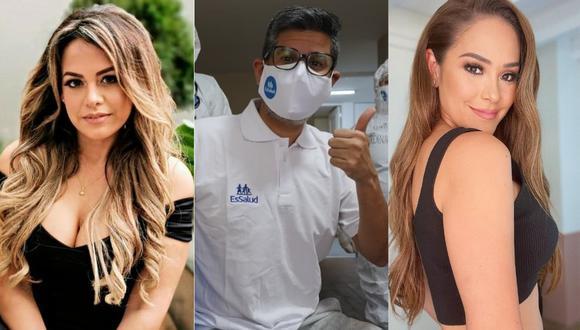 Conoce a los famosos peruanos que superaron la COVID-19 desde que inició la pandemia. (Foto: Composición Instagram)