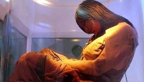 Estudio. Universidad de Bradford analizó cabellos de momias. (USI)
