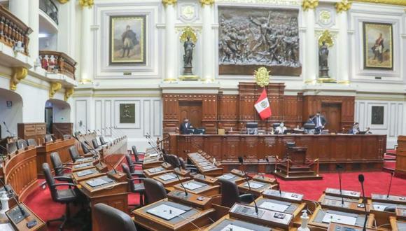 El pleno del Congreso decidió rechazar la reforma constitucional sobre la cuestión de confianza. (Foto: Congreso)