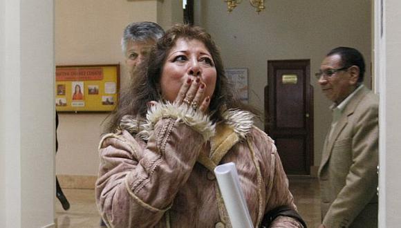 Celia Anicama fue protagonista de ese escándalo en 2011. (Nancy Dueñas)