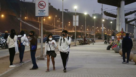 Según la entidad del Ministerio del Ambiente (Minam), la temperatura máxima será de 22°C. (Fotos: Jesús Saucedo / @photo.gec)