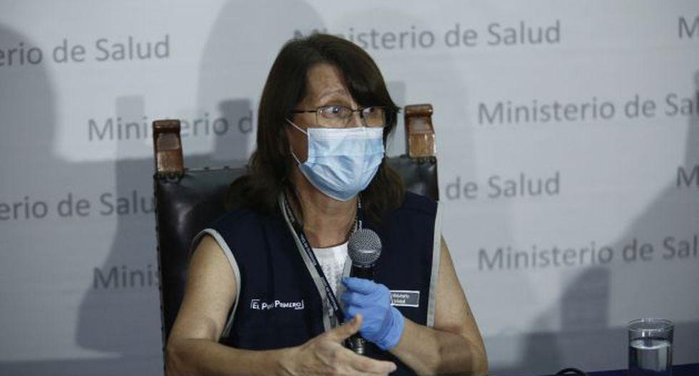 Pilar Mazzeti, ministra de Salud. (Foto: GEC)