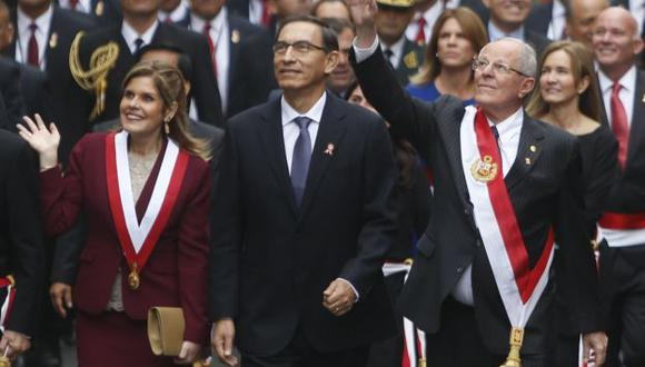 PPK optó por vicepresidenta Mercedes Aráoz para encabezar el gabinete. Martín Vizcarra se iría como embajador a Colombia.