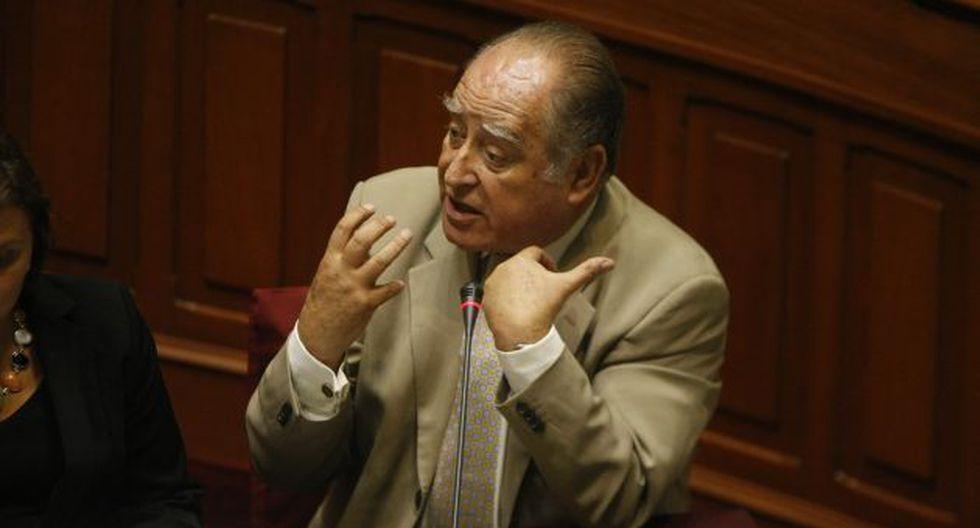 Es decisión presidencial, dice. (Mario Zapata)