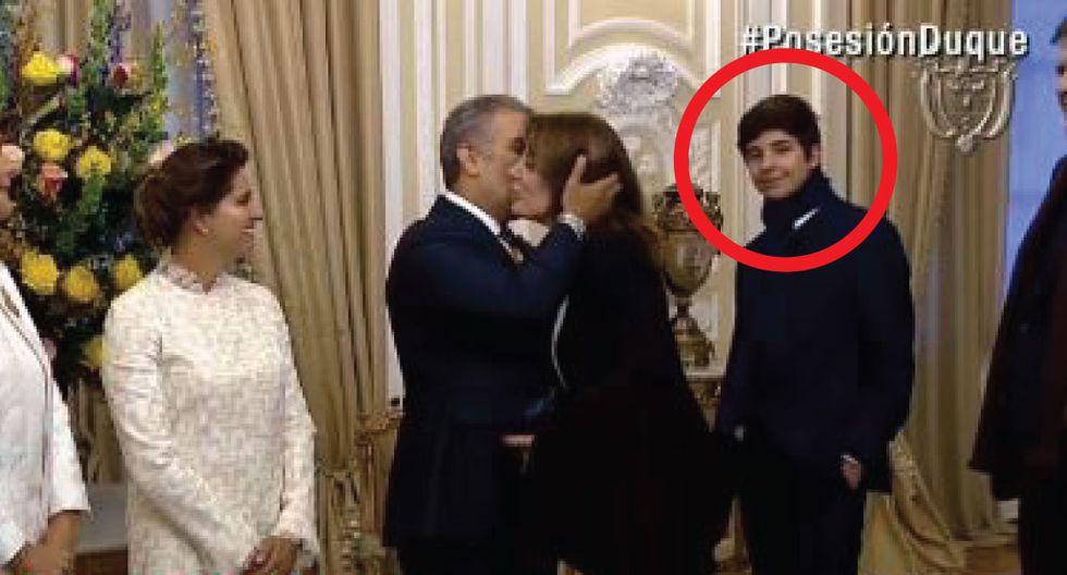 El jovencito nació en 2005, producto de la relación de García y Cheesman entre el 2004 y 2005. (Caracol TV)