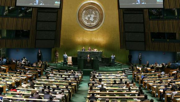 Hemiciclo de la ONU en Nueva York. (Reuters)