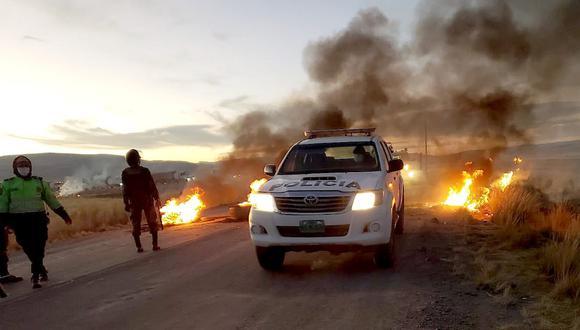Cusco: diálogo en Espinar se suspendió tras incendio de estación de bombeo (Foto: Juan Sequeiros)