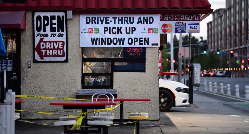 Imagen referencial de un restaurante de comida rápida en Los Ángeles, California (Estados Unidos). (AFP / Frederic J. BROWN).
