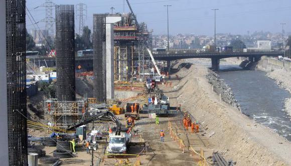 TRANSPORTE. El proyecto más grande para lo que resta del año es la Línea 2 del Metro de Lima. (David Vexelman)