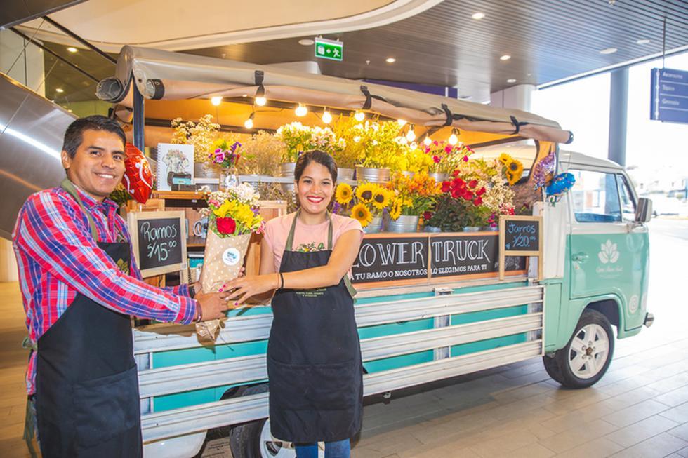 Qumir Flower Truck no es solo una florería, también la pueden contratar para eventos y matrimonios. (Foto: Allen Quintana/GEC)