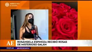Rosángela Espinoza reveló tener misterioso galán que le envía obsequios