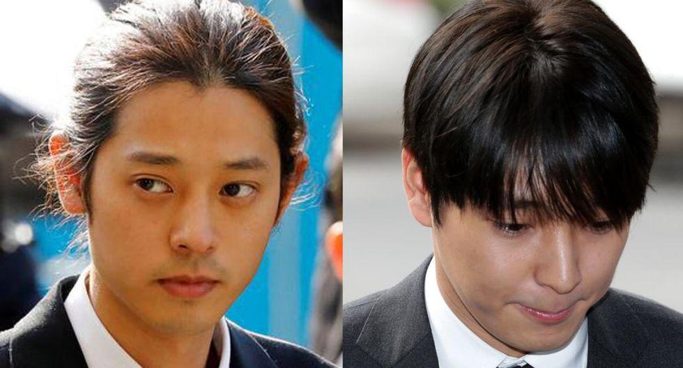 Jung Joon-young y Choi Jong-hoon sentenciados a prisión por violación sexual. Foto: AP
