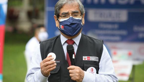 Ministro de Salud informó que el primer caso de variante india en Lima fue reportado en el distrito de Comas. (Foto: GEC)