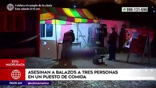 Ancón: sujeto disparó y asesinó a tres personas