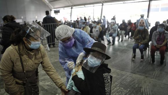 La vacunación se realiza desde el mes de febrero.  (Foto: GEC)