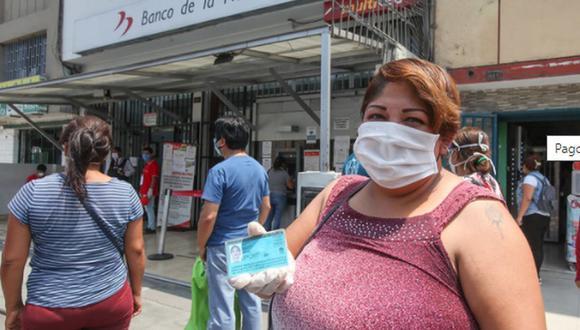 Los beneficiarios del Bono Familiar Universal que no pudieron cobrar el subsidio a la fecha podrán cobrarlo en el 2021 (Foto: Andina)