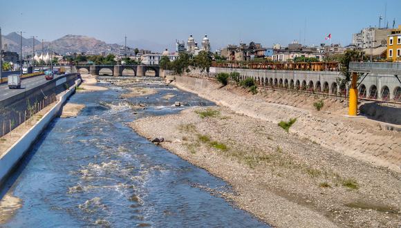 Esta es la nueva cara del Río Rímac libre de contaminación. (Foto: Twitter David Pino @daveklux)