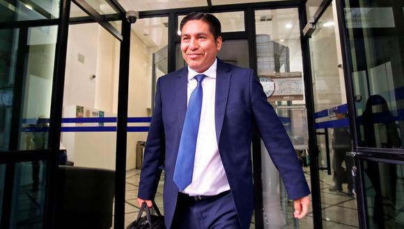 """Carlos Puma dejará el equipo especial Lava Jato por """"asuntos personales"""". (AFP)"""