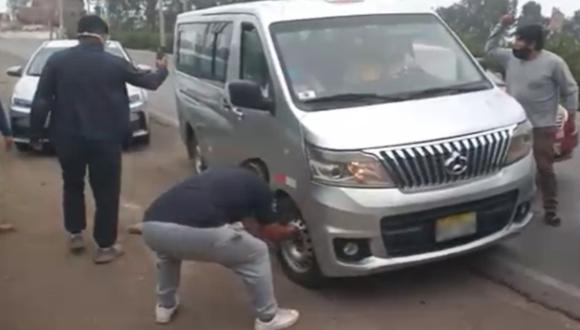 Cañete: vecinos intervienen a conductores que trasladan pasajeros sin protección por COVID-19. (Foto: captura de pantalla)