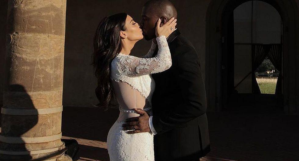 Kim Kardashian comparte la primera fotografía del rostro de su hijo Psalm West. (Foto: @kimkardashian)