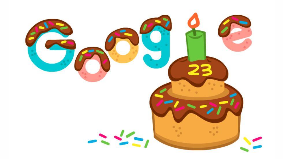 Google se estableció oficialmente el 27 de setiembre de 1998, y para celebrar su aniversario crearon un doodle muy especial.