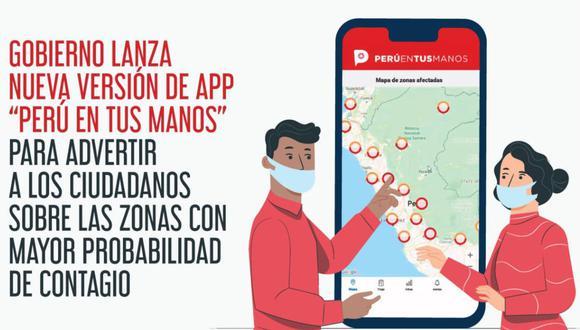 Aplicativo incluye funcionalidad para ciudadanos que están en aislamiento social obligatorio. (Foto: Difusión)