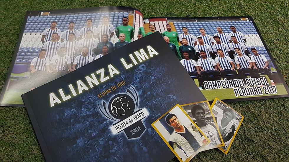 Alianza Lima sacará su álbum en el que contará sus mayores logros. (Facebook Alianza Lima)