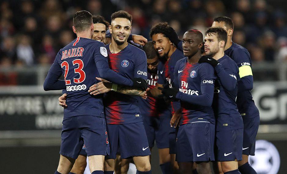 PSG recibe este sábado al Guingamp por la jornada 21 de la Ligue 1. (Foto: AP)