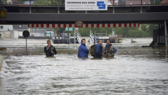 Ríos se han desbordado. (AFP)