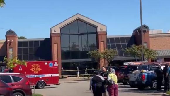 Las autoridades señalaron que hubo doce heridos, quienes fueron trasladados a centros hospitalarios cercanos. (Foto: Twitter @wregzaneta)