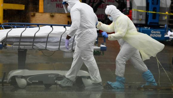Estados Unidos alcanzó este jueves la cifra de 8′940.170 casos confirmados del coronavirus. (Foto: Angela Weiss / AFP)