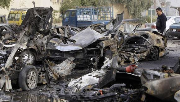 Al menos 11 personas fallecieron y otras 62 resultaron heridas en Bagdad. (AP)