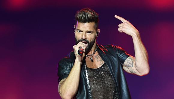 Ricky Martin recibirá homenaje el 17 de enero por su obra filantrópica. (Foto: AFP)