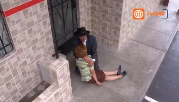 'Doña Nelly'muereb de un infarto tras ganar la lotería. (Captura de TV)