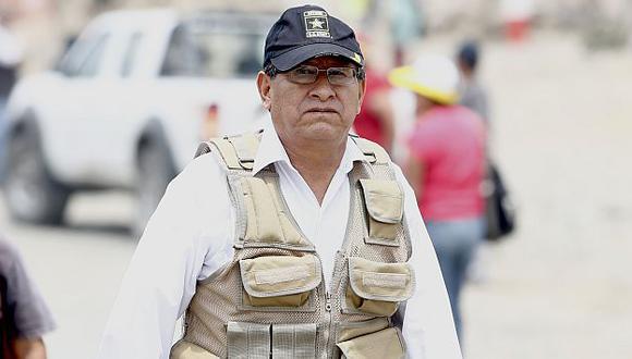 Adrián Villafuerte en la mira. (Rafael Cornejo)
