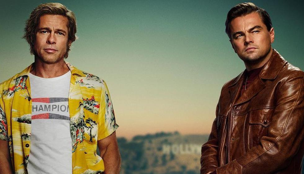 """Brad Pitt y Leonardo DiCaprio dan vida a Cliff Booth y Rick Dalton, personajes principales de """"Once Upon a Time in Hollywood"""". (Foto: @onceinhollywood)"""