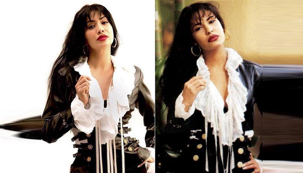 (Facebook Selena Quintanilla/nstagram Maya Zapata)