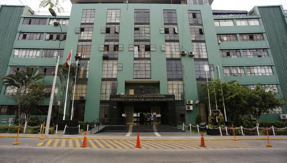 La sede de la Dirección de Criminalística se encuentra ubicada en la avenida Aramburú, en Surquillo. (GEC)